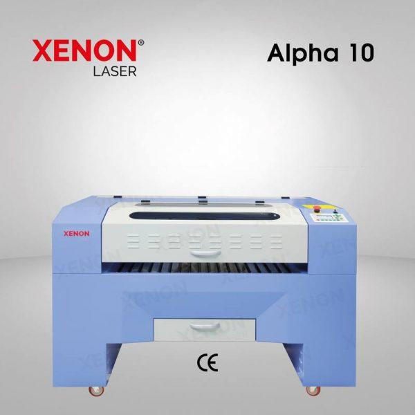 Alpha 10 lazer kesim makinası 100×80