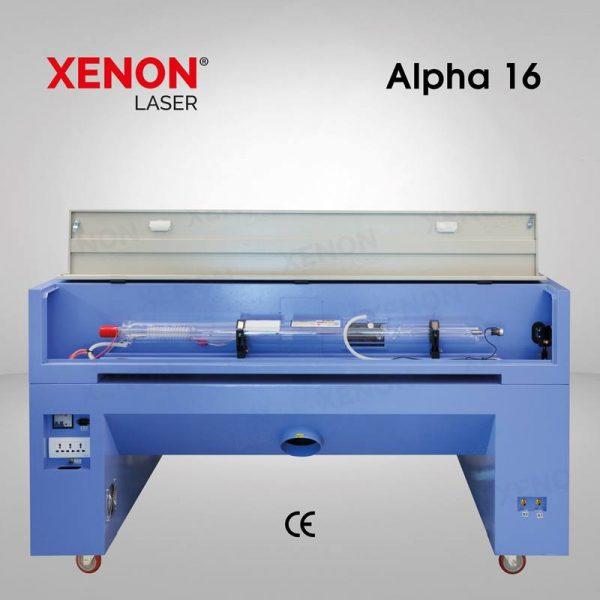 Alpha 16 lazer kesim makinası iç kısım