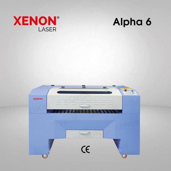 Alpha 6 lazer kesim makinası  60×40