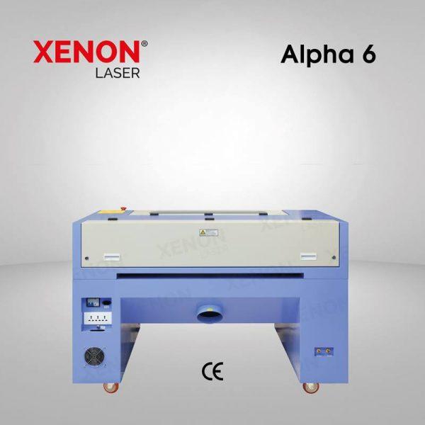 Alpha 6 lazer kesim makinası