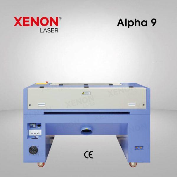 Alpha 9 lazer kesim makinası