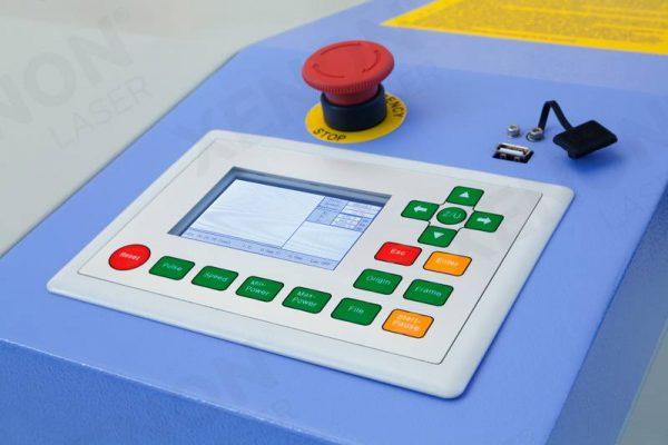 Lazer kesim makinası kontrol paneli