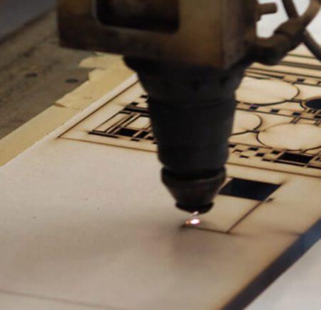 Hobi Lazer Kesim Makinası