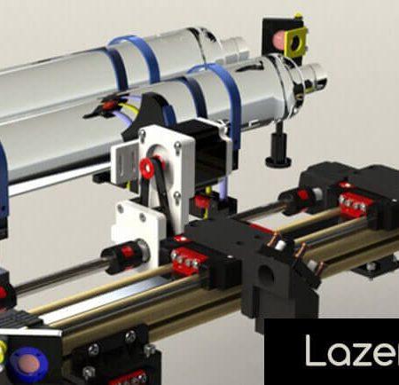Lazer Kesim Makinası Parçaları